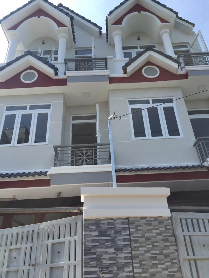 Nhà phố đường Hà Huy Giáp, Q12 - 1 sẹc