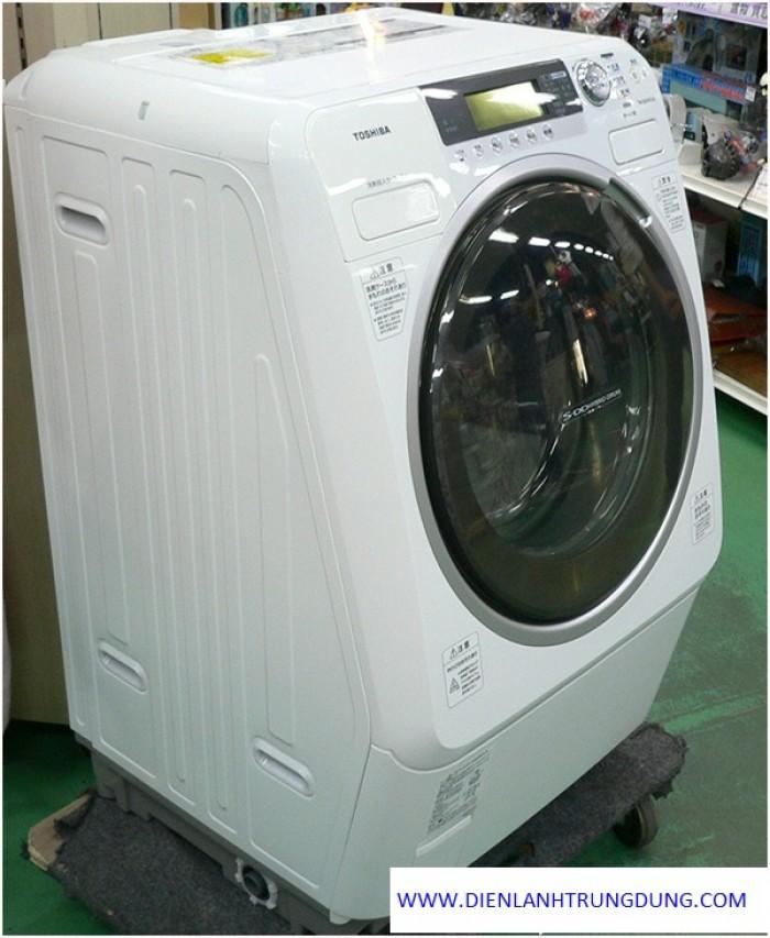 Máy giặt có sấy nội địa nhật toshiba tw-250vg (giặt 9kg sấy 6kg)