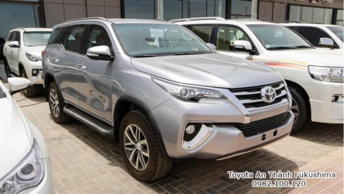 Nhận Đặt Hàng Mua Toyota Fortuner 2017 Máy Dầu Mẫu Mới Nhập Khẩu Màu Bạc Giao Tháng 03/2017 Tại HCM