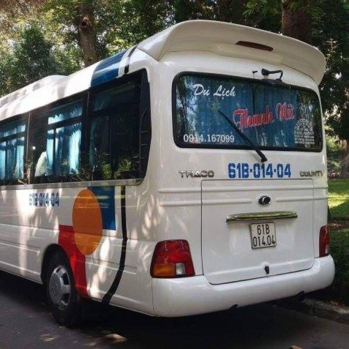 Cho thuê xe du lịch 29 chỗ tại Bình Dương
