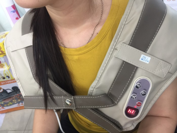 Đai massage Vai ,Cổ ,Gáy CAO CẤP 5 trong 1 NECK W-808 - MSN383148