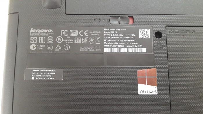 Bán laptop Lenovo Z5070 core I7 thế hệ 44