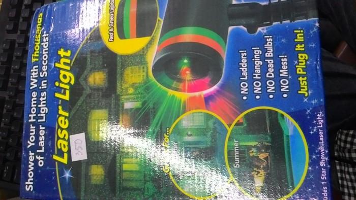 Đèn laser light Gíang sinh0