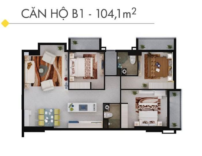 Bán căn hộ cao cấp Southern Dragonđường âu cơ ,nhận nhà ở ngay trả chậm 18 tháng giá gốc 19tr/m2