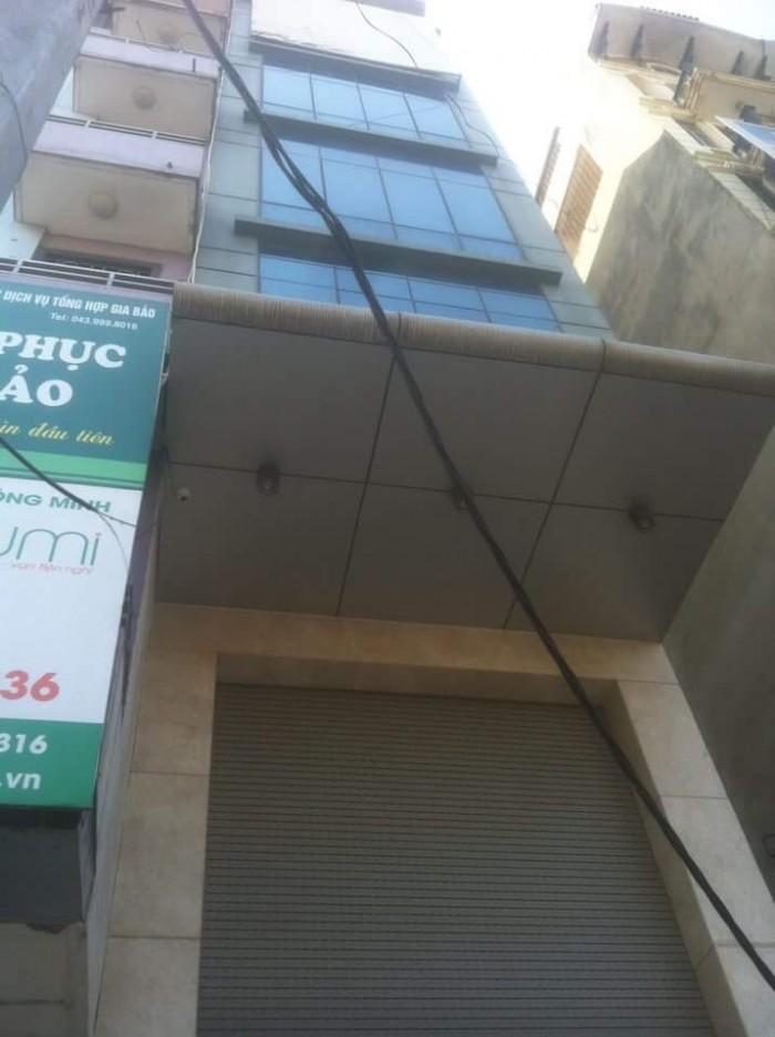 Cho thuê tòa nhà chuẩn văn phòng mặt phố Nguyễn Xiển 60mx 7 tầng