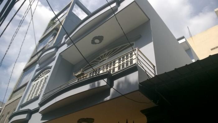 Nhà 1 lầu hẻm 4m khu chợ vải Phú Thọ Hòa DT 13x12m