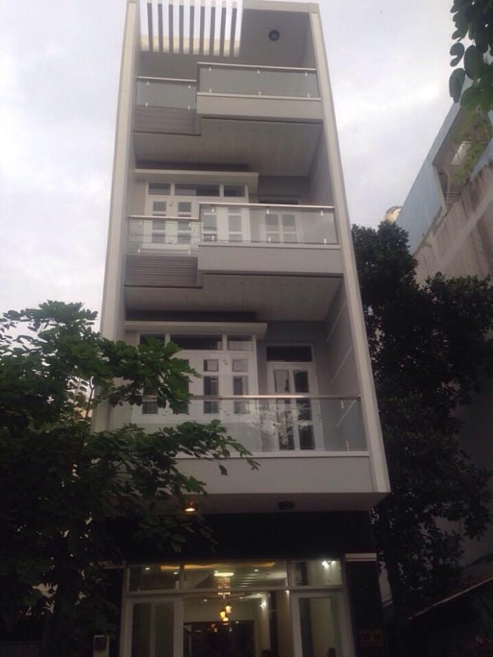 Bán nhà Phạm hữu Lầu 4,6 tỉ, 4x18m, 3 tầng, sân thượng , phòng thờ, gara xe hơi