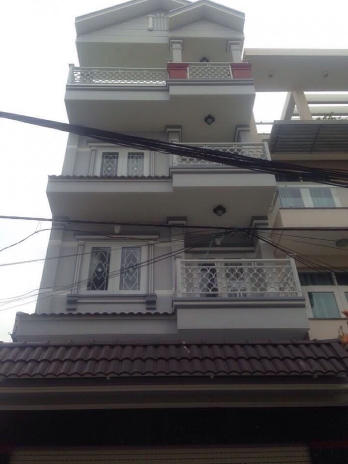 Bán nhà Hoàng Quốc Việt Quận 7 , 3 tầng , sân thượng, giá 5,1 tỉ , 5x16m, đường xe hơi