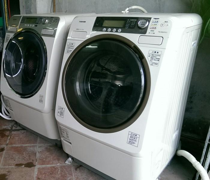 MÁY GIẶT ( có sấy quần áo)  Nhật Bản Toshiba  giặt 9kg sấy 6kg bảo hành 15 tháng