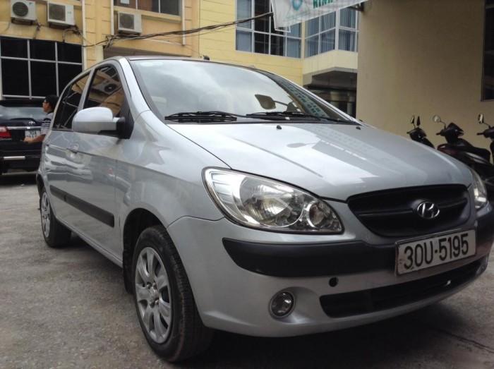 Hyundai Getz sản xuất năm 2007 Số tay (số sàn) Động cơ Xăng