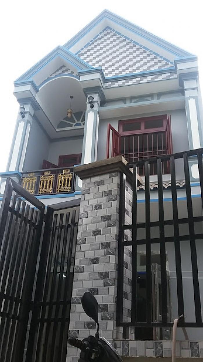 Bán nhà mặt phố tại Đường Nguyễn Hữu Cảnh, Phường Đông Hòa, Dĩ An, Bình Dương diện tích 100m2