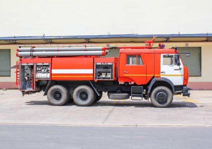 Xe chữa cháy Kamaz - Xe cứu hỏa Kamaz