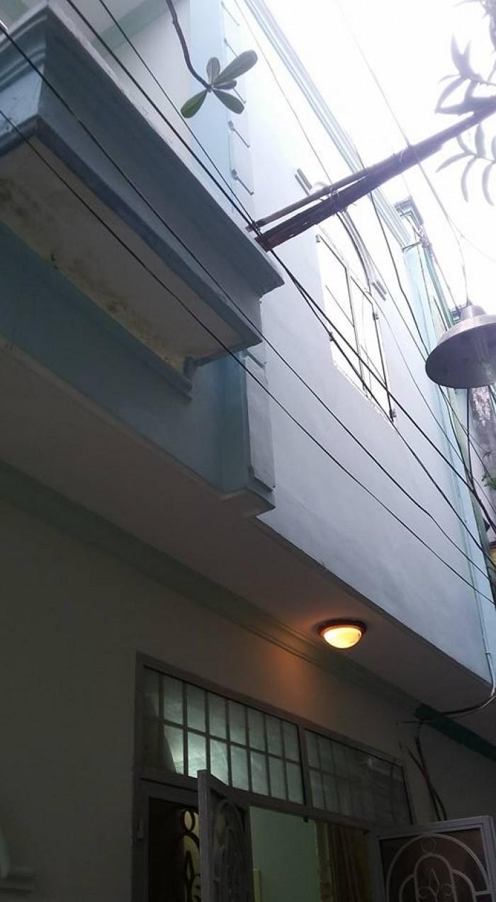 Nhà bán đường Bùi Quang Là,p12 Gò vấp,dt 5x5 đúc 1 trệt 1 lầu, giá 980 triệu