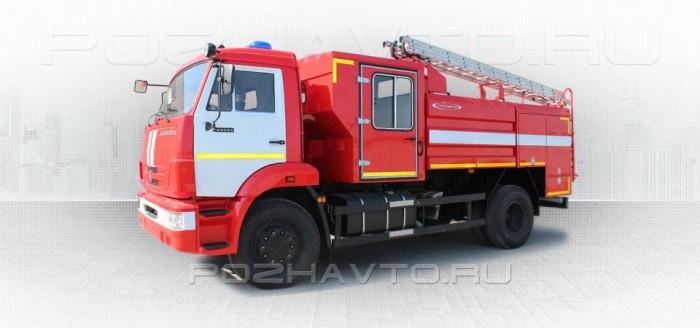Xe cứu hỏa Kamaz 43253 (4x2), Bán xe cứu hỏa Kamaz 43253 nhập khẩu Nga