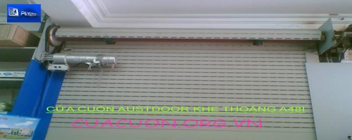 cửa cuốn khe thoáng austdoor a48i2
