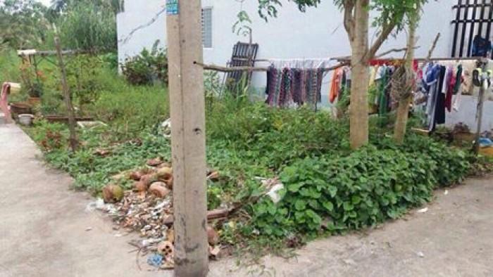 Bán đất mặt tiền Trần Vĩnh Khiết cách đường Nguyễn Văn Cừ 350m