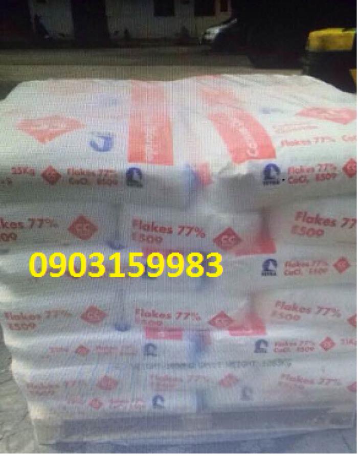 Bán CaCl2 - Calcium Chloride - phụ gia thực phẩm - giá tốt