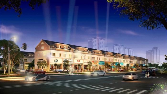 Biệt thự thương mại MT Nguyễn Hữu Thọ 278m2 tiện ở - KD- cho thuê