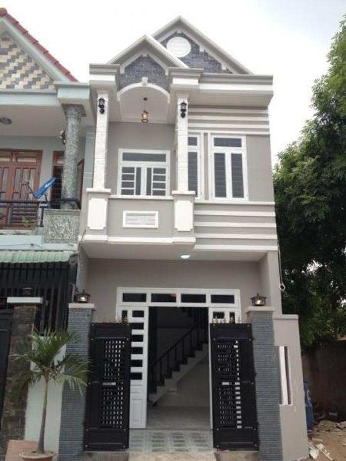 Nhà ở giá rẻ cho người tài chính thấp, chợ Bình Chánh, 83m