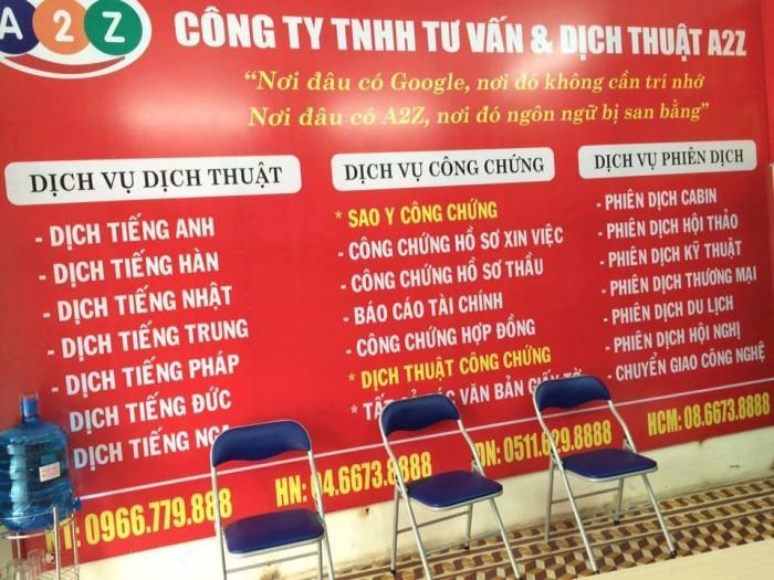 Biên dịch, phiên dịch tiếng Hàn tại Vũng Tàu