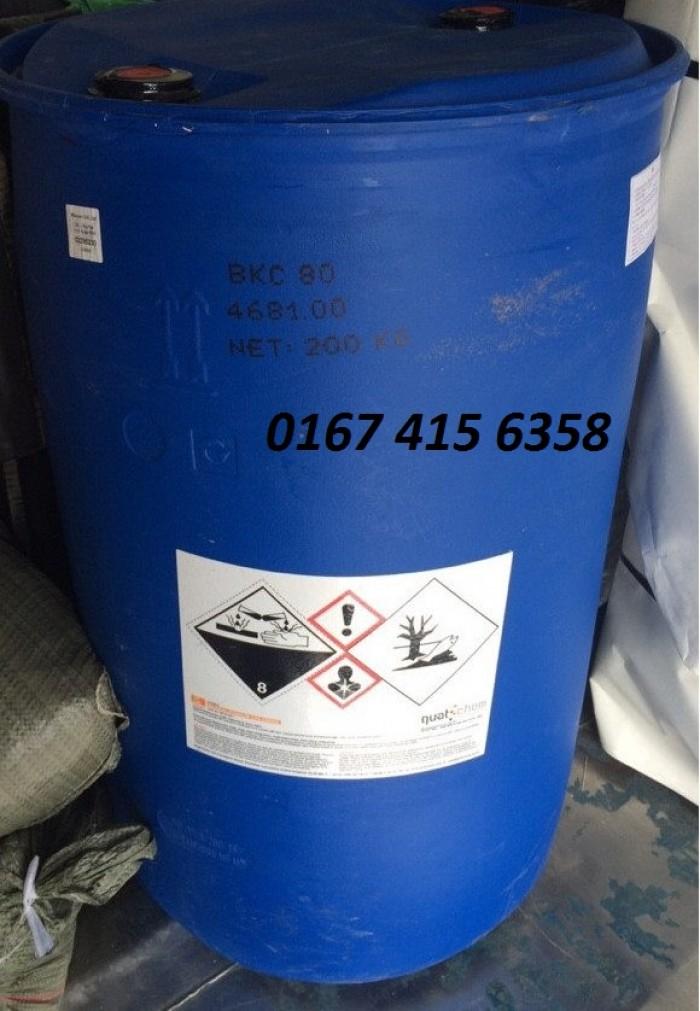 Bkc- hóa chất xử lý nước