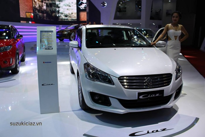 Bán xe Suzuki Ciaz 2016 1.4L , 4AT Nhập khẩu từ THAILAND giá 580tr