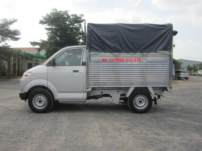 Bán xe suzuki Pro đóng thùng Kín Inox, Thùng mui bạt giá 280tr Nhập khẩu Indonesia