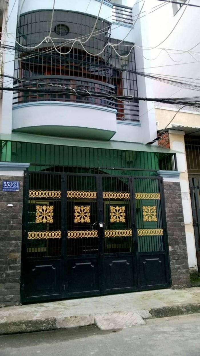 Cần Tiền Bán Gấp Nhà Hẻm 5M Trịnh Đình Trọng, 4 x 16M, 1 Lầu, Giá: 3.1 Tỷ.