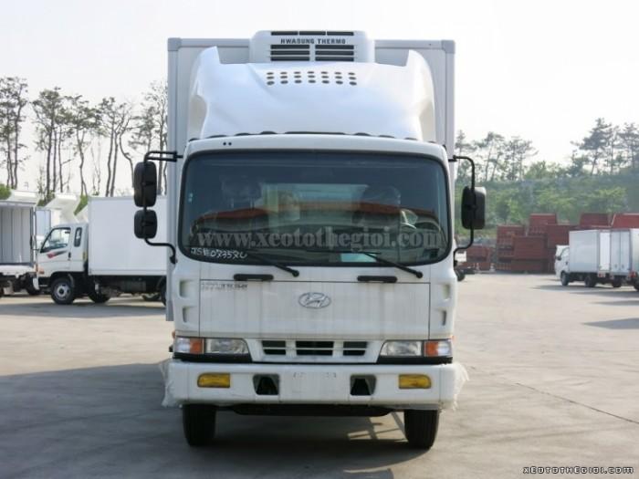 Hyundai HD120 sản xuất năm 2016 Số tay (số sàn) Xe tải động cơ Dầu diesel