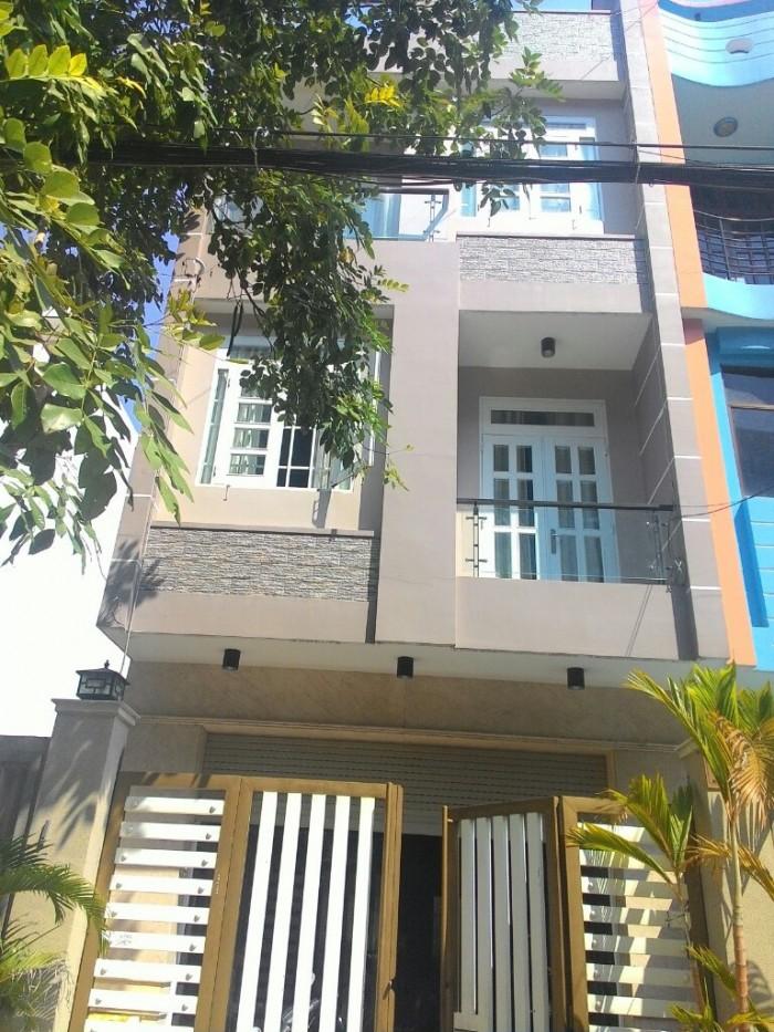 Bán nhà MT đường 267B Ba Tơ, P.7, quận 8, TP HCM - 4.6 tỷ TL bao nội thất