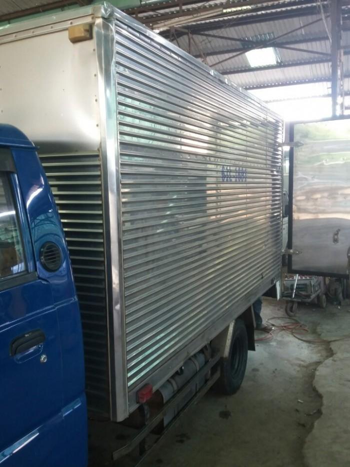 Hyundai Porte 1t25 thùng kín, đời 2008