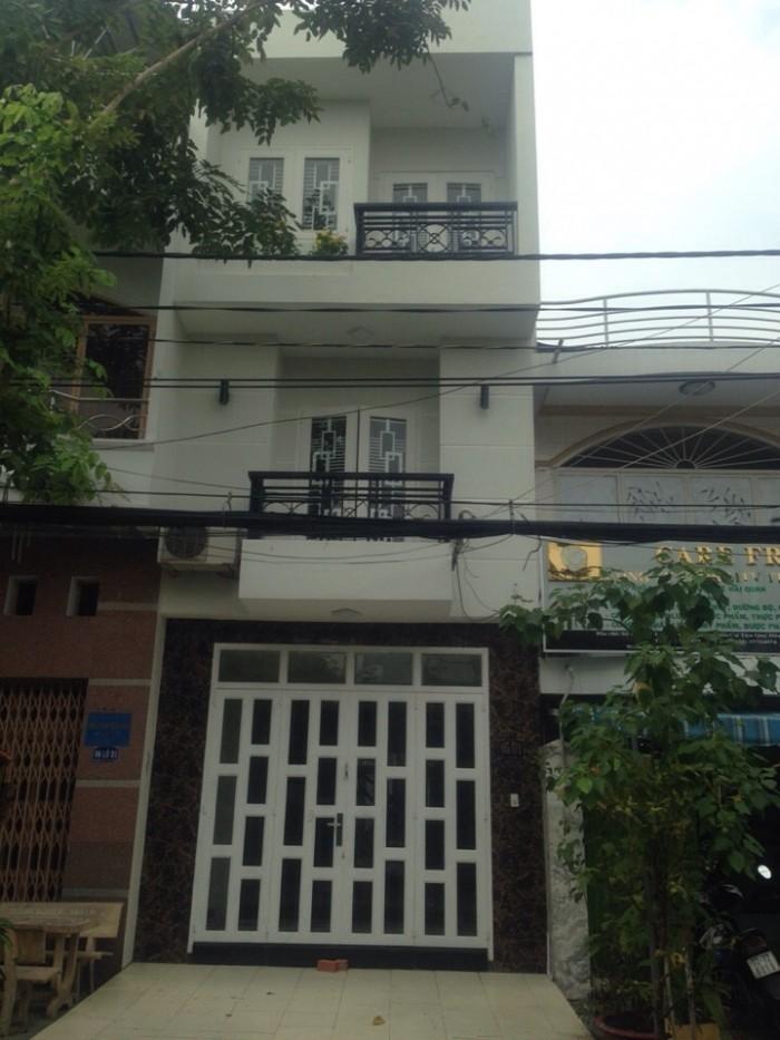 Bán nhà phố, khu đường số, phường Tân Phong, Quận 7, DT 4x15m, 1 trệt 2 lầu. Giá 5.8 tỷ