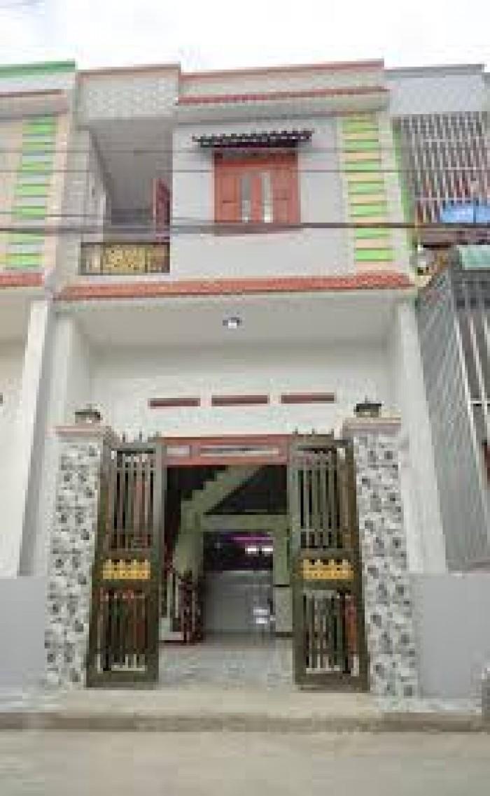 Bán nhà lầu mới xây ngay KDC Hương Lộ 11,giá 790tr
