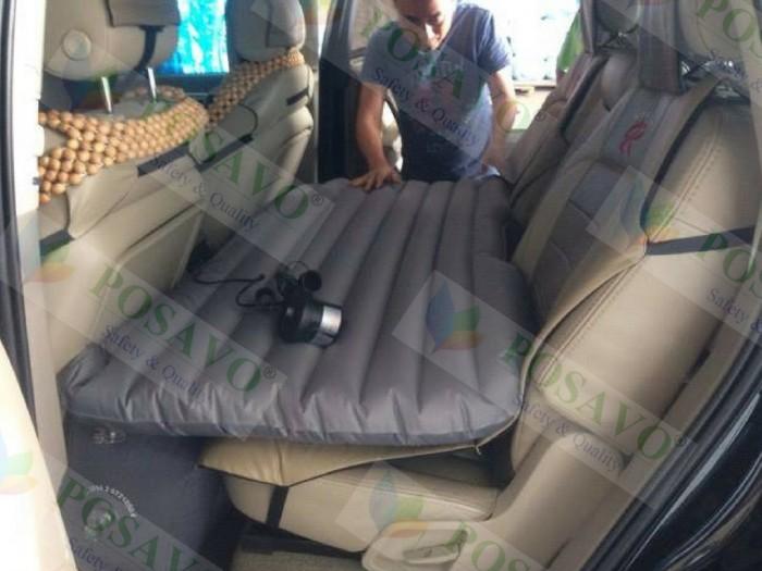Posavo lắp đặt đệm hơi ô tô xe audi q7 cho anh hùng quận 12 tp.hcm