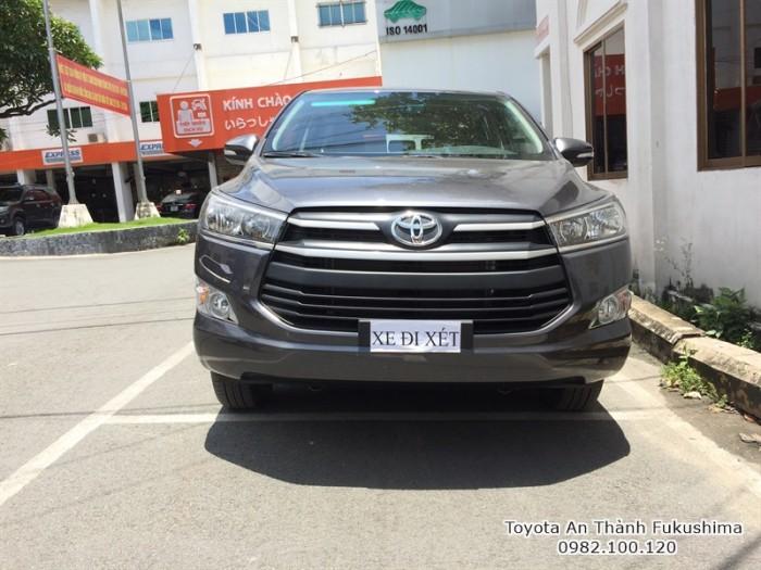 Toyota Innova 2017 số sàn HCM | Gọi đến 0982 100 120 để biết giá hiện tại cùng các chương trình hỗ trợ mua xe Innova từ Đại lý Toyota 100% vốn Nhật - Toyota An Thành Fukushima