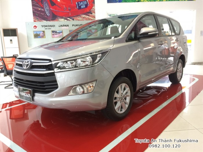 Xe ôtô Toyota Innova G 2017 HCM từ Đại lý Toyota 100% vốn Nhật - Toyota An Thành Fukushima