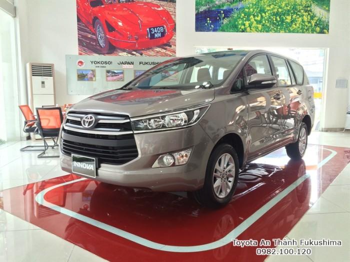 Toyota Innova G 2017 số tự động HCM | Gọi đến 0982 100 120 để biết giá hiện tại cùng các chương trình hỗ trợ mua xe Innova từ Đại lý Toyota 100% vốn Nhật - Toyota An Thành Fukushima