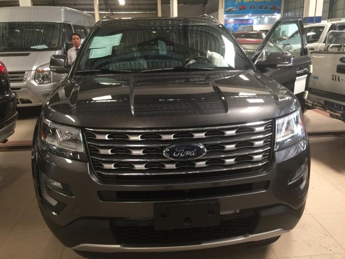 Bán Ford Explorer 2.3 Ecoboost Limited 2016, nhập Mỹ 0