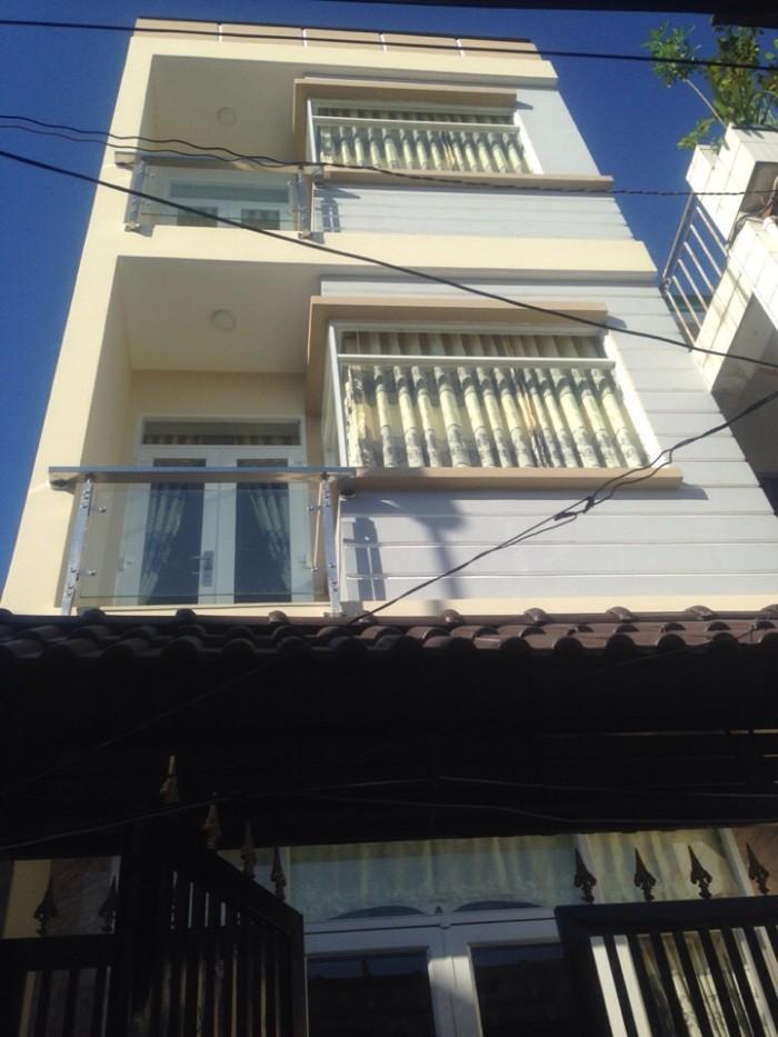 Bán nhà đường Nguyễn Văn Linh, Q7. DT 4x15m, 2 lầu đúc 4 PN. Sổ hồng riêng. Giá 3.2 tỷ, chìa khóa trao tay!