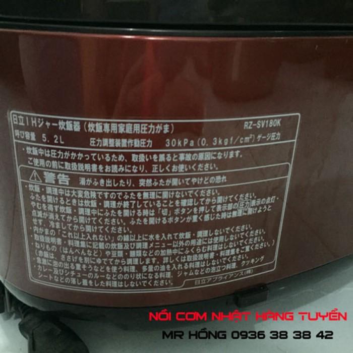 Hot hot - Nồi cơm điện Hitachi 1,8l Steam cut, nấu cơm cực ngon