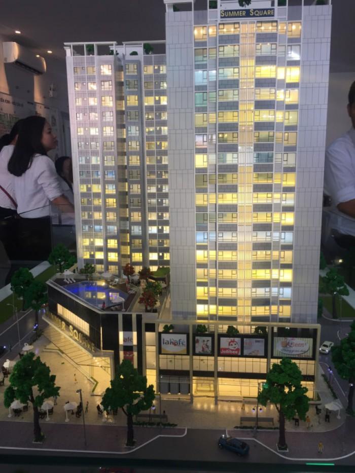 Căn hộ Summer Square – Nơi cuộc sống chuẩn mực, tiện nghi, cao cấp giá chỉ từ 1,2 tỷ.