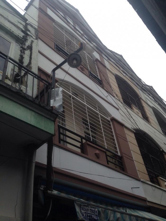 Nhà phố hẻm 1027 Huỳnh Tấn Phát, DT3.9x12.5m, 1 trệt 2 lầu, 4PN, hẻm 2.8m. Giá 2.2 tỷ