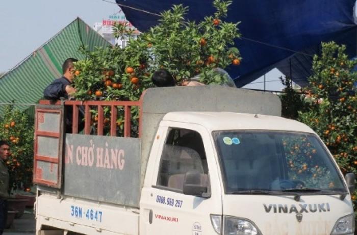 Taxi tải chở hàng giá rẻ ngày Tết