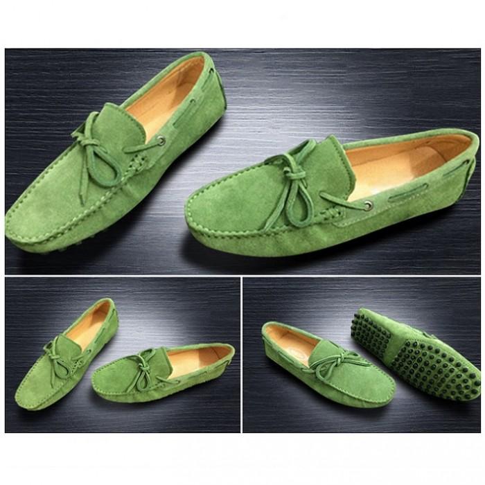 Giày lười da lộn nam size nhỏ 35 - 440
