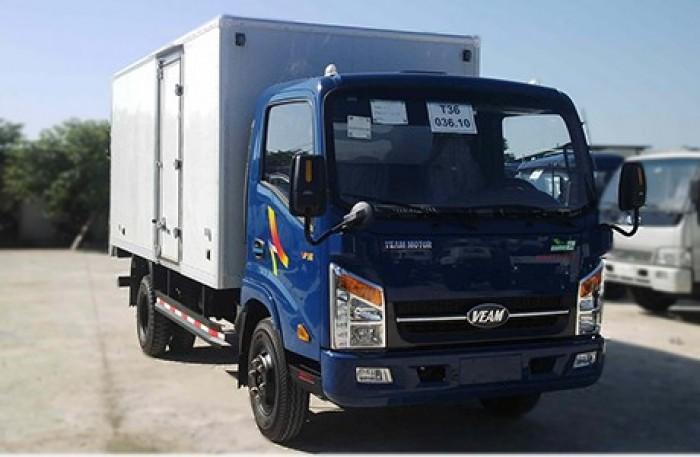 Xe tải Veam máy Hyundai VT260 tải trọng 2 tấn thùng dài 6m2