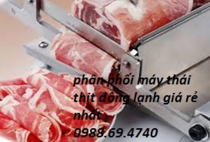 Máy thái thịt đông lạnh cho nhà hàng ST-200