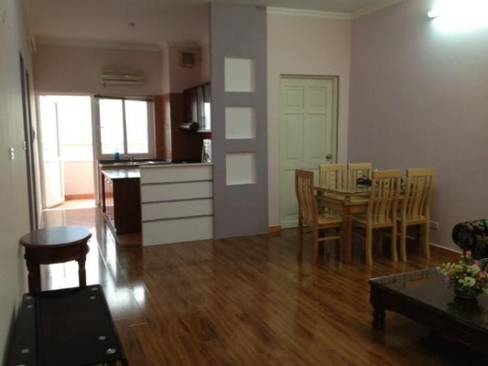 Cho thuê gấp chung cư 125D Minh Khai, giá rẻ 6.5tr/th, S=100m2, có nội thất