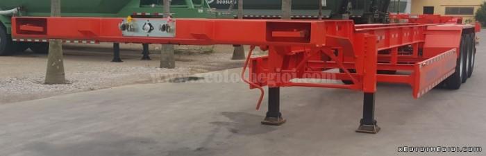 Nhà phân Phối Rơ mooc Doosung bán Mooc Xương 3 trục 37 tấn , giao hàng trên toàn quốc 1