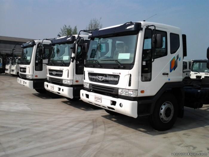 Xe tải Daewoo F8CEF thùng, tải trọng 8.000 kg