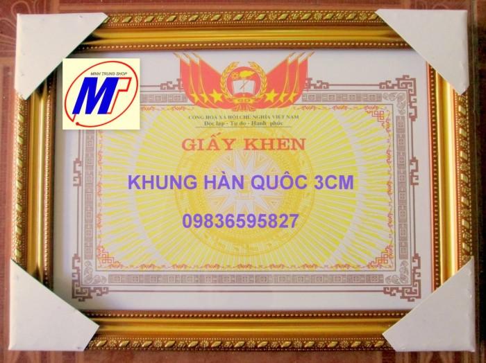 Xưởng chuyên sản xuất khung giấy khen2
